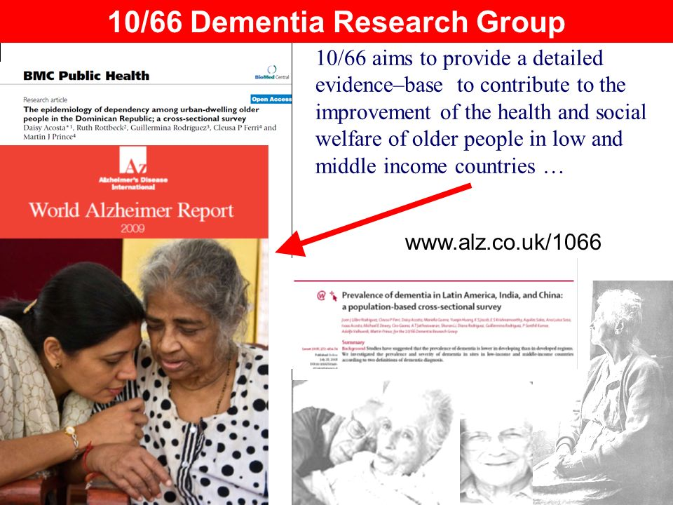 10/66 Dementia Research Group