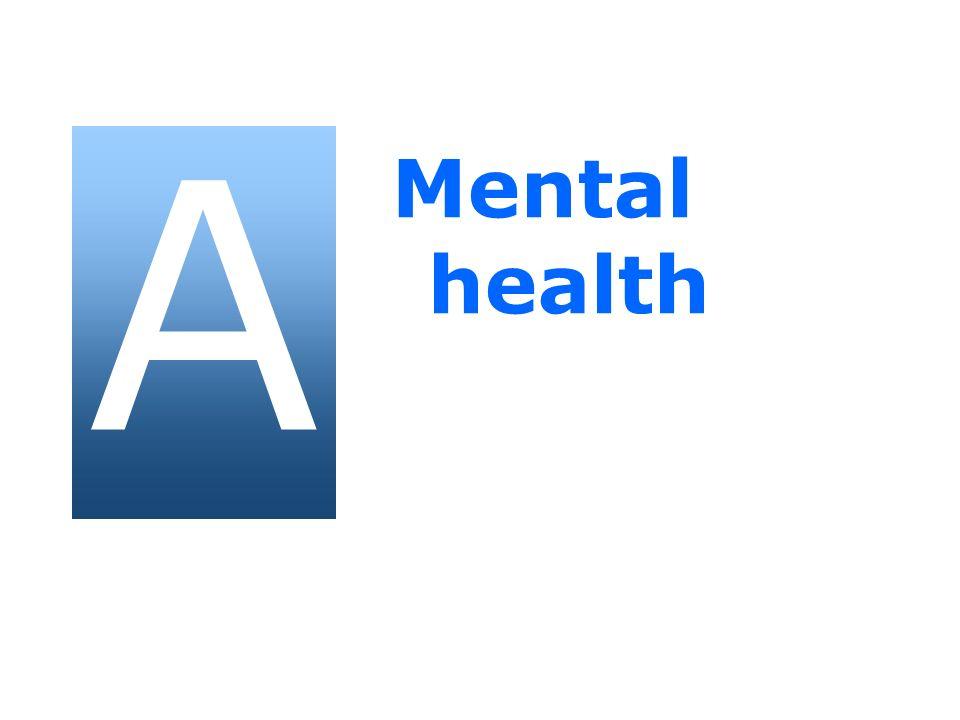 A Mental health 2