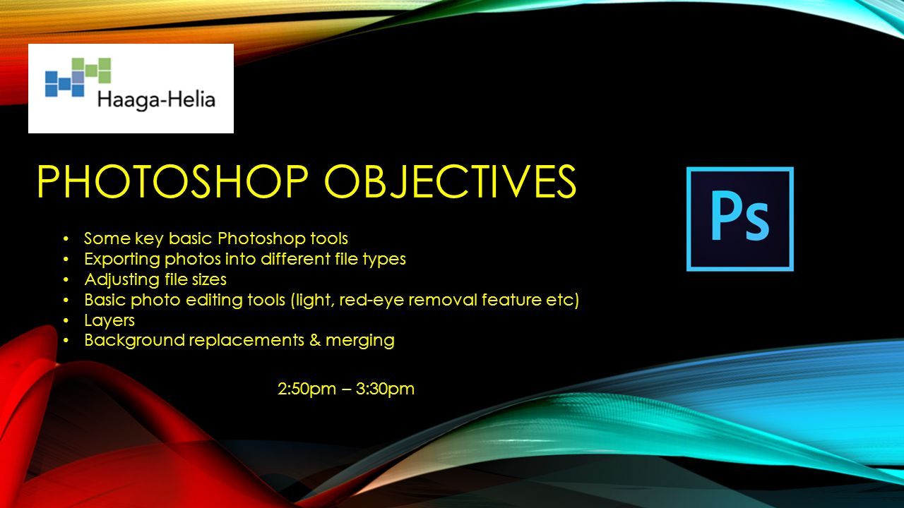 Microsoft powerpoint adobe photoshop ppt download powerpoint objectives 3 photoshop objectives toneelgroepblik Images