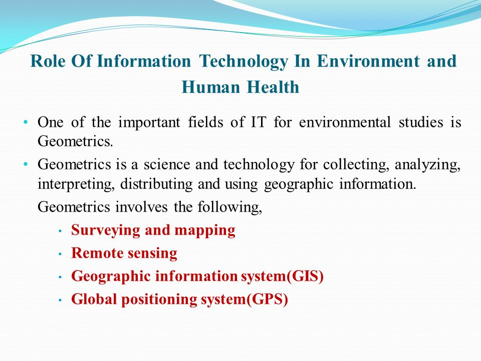 the role of information technology in The role of information technology in combating security challenges in nigeria dr peter m ogedebe information technology (it.