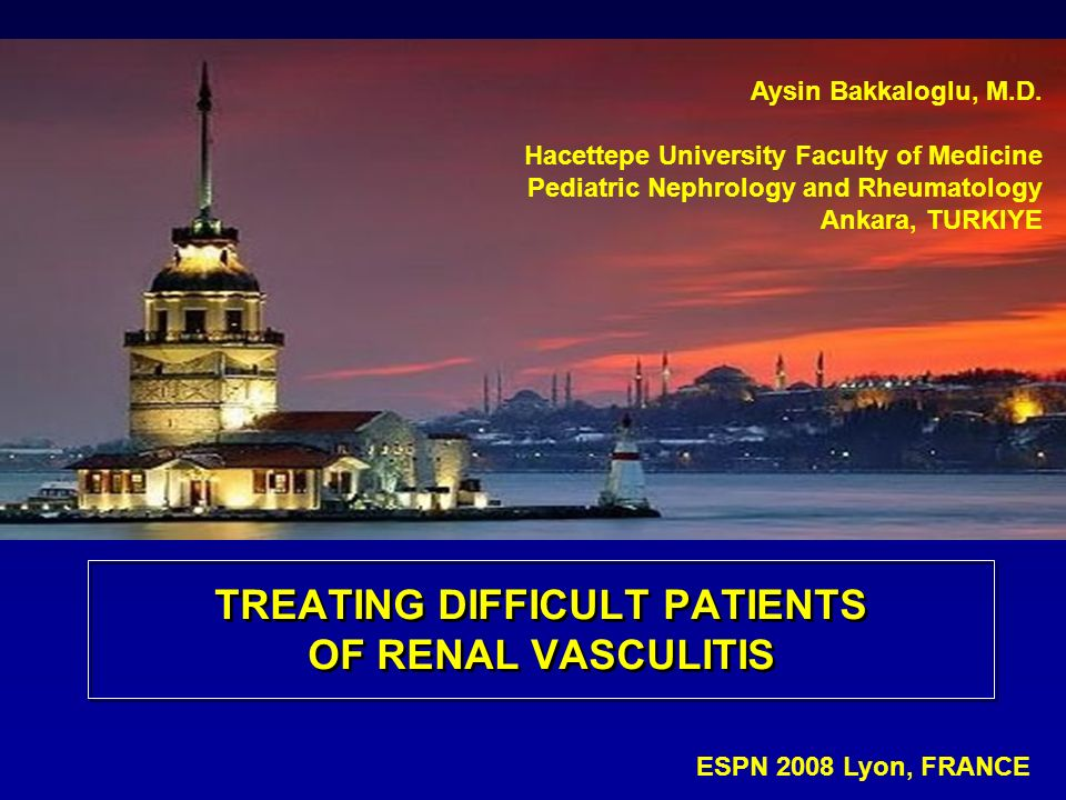 TREATING DIFFICULT PATIENTS OF RENAL VASCULITIS