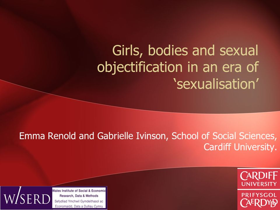 Girls, bodies and sexual objectification in an era of 'sexualisation'
