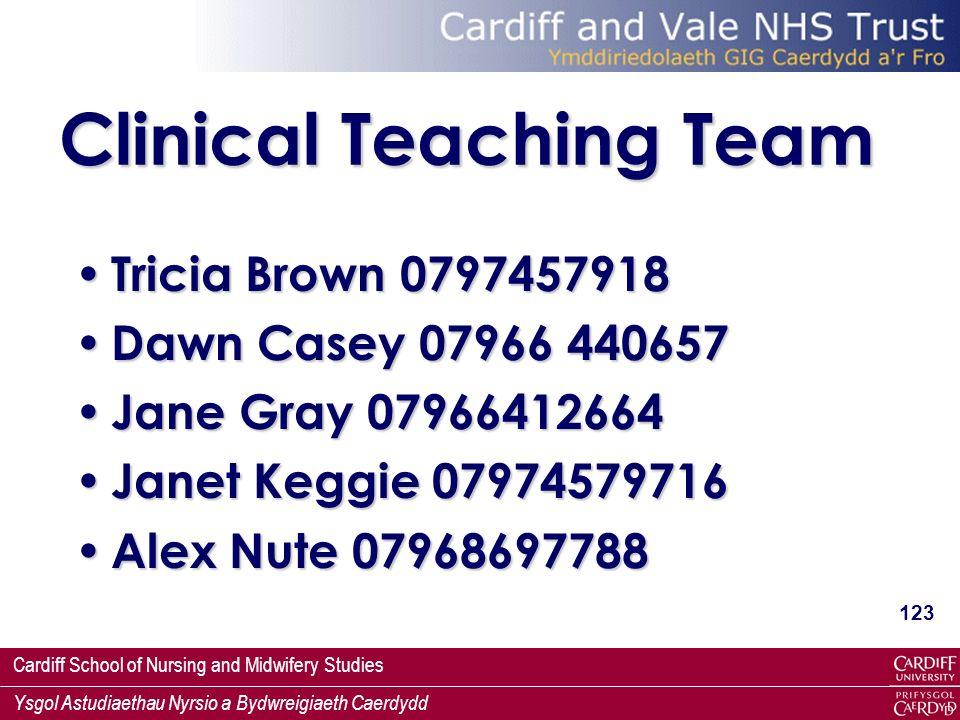 Clinical Teaching Team