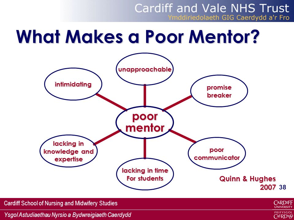What Makes a Poor Mentor