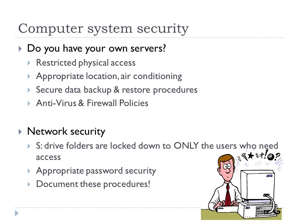 Computer system security