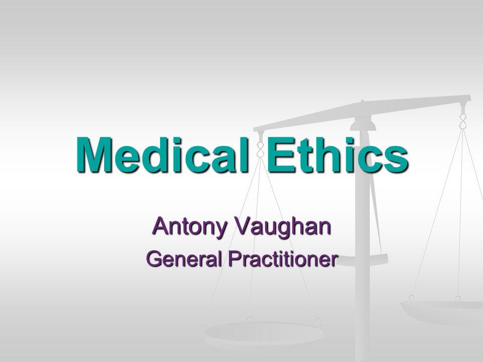 Antony Vaughan General Practitioner