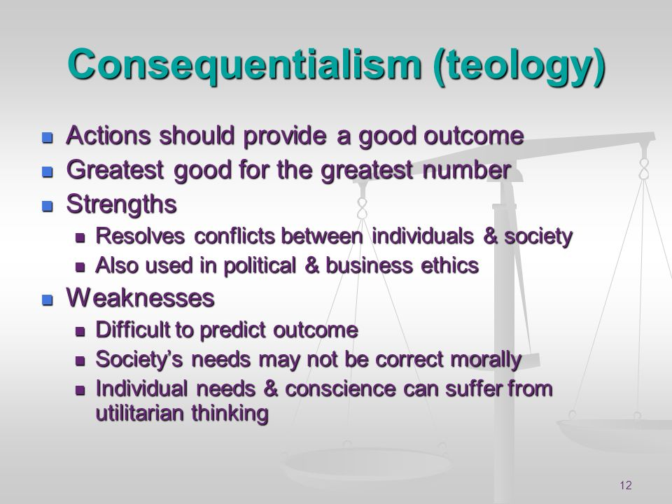 Consequentialism (teology)
