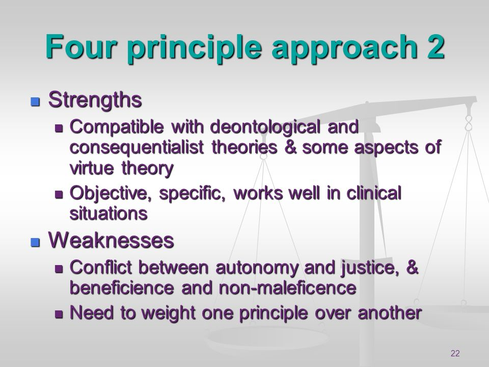 Four principle approach 2
