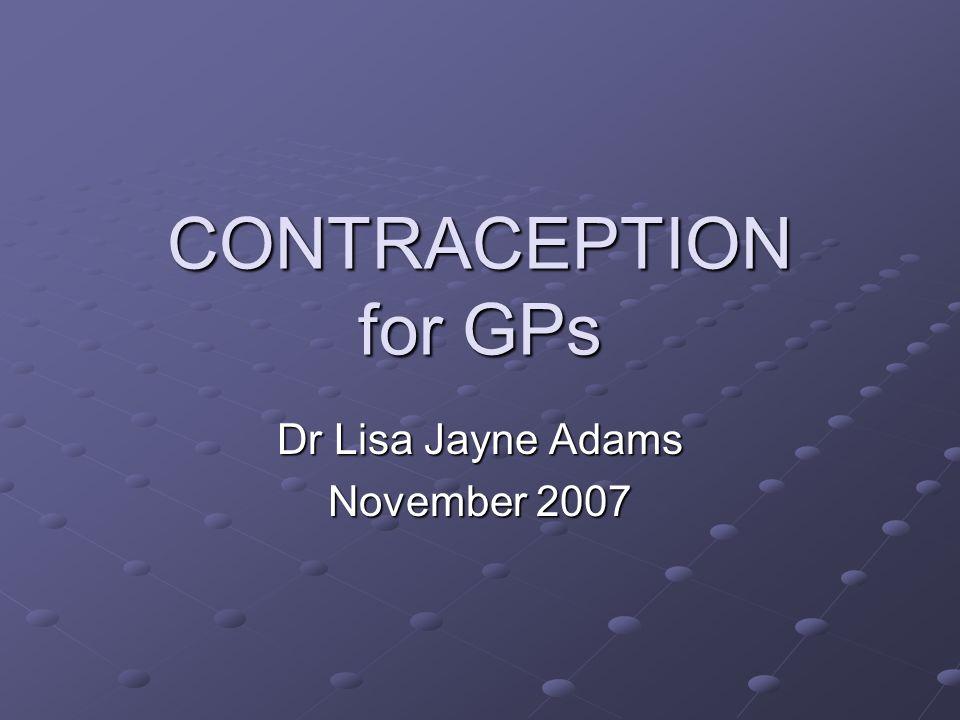 Dr Lisa Jayne Adams November 2007