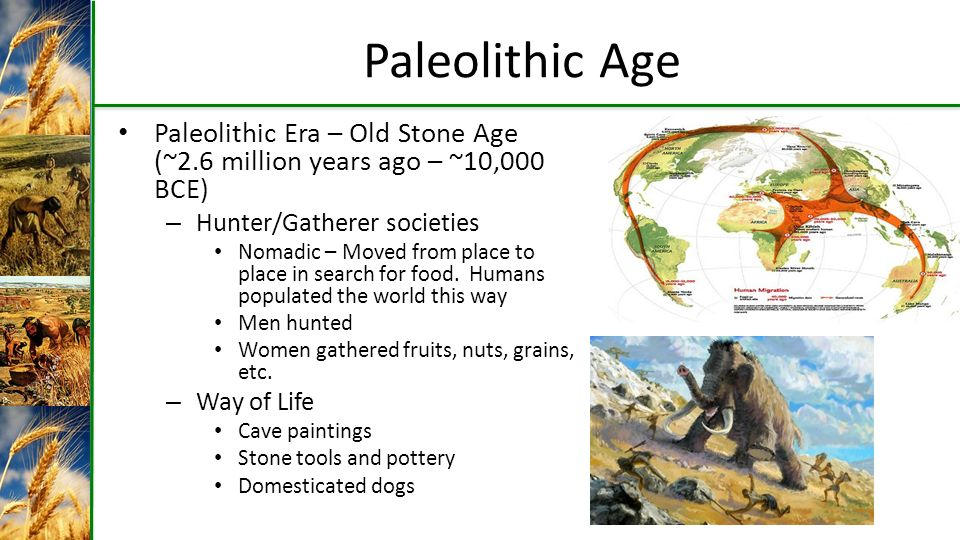 Neolithic revolution cause and effect