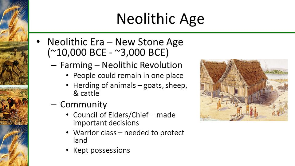Neolithic Revolution The Birth Of Farming Ppt Video