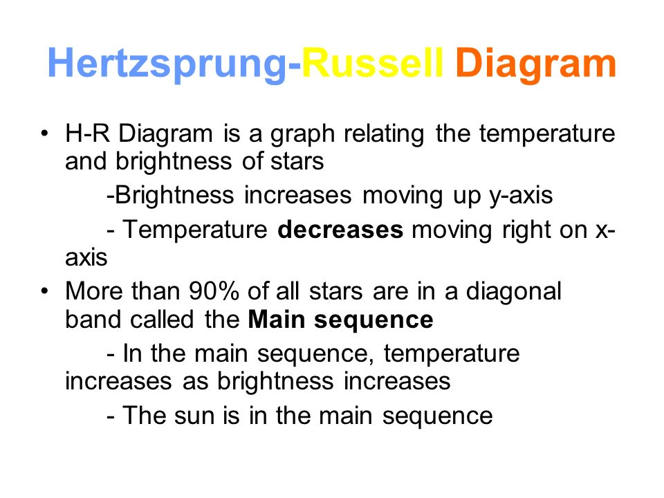 Characteristics of stars ppt video online download 7 hertzsprung russell diagram ccuart Images