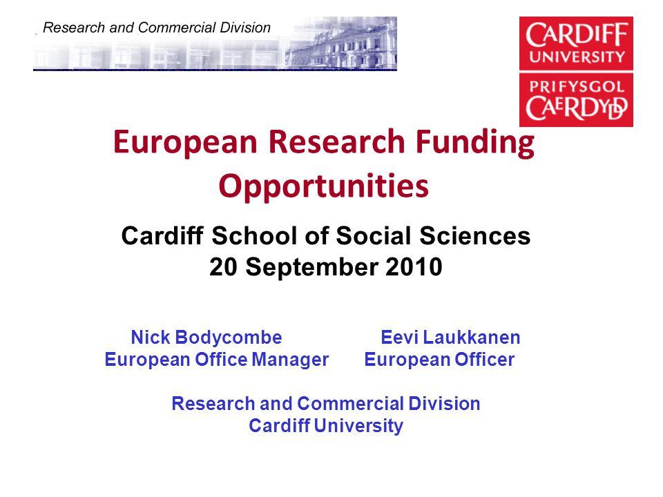 European Research Funding Opportunities