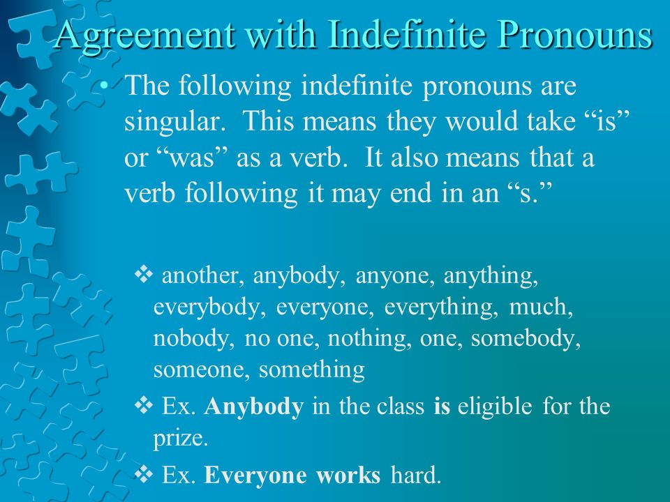 Subject –Verb Agreement Ppt Video Online