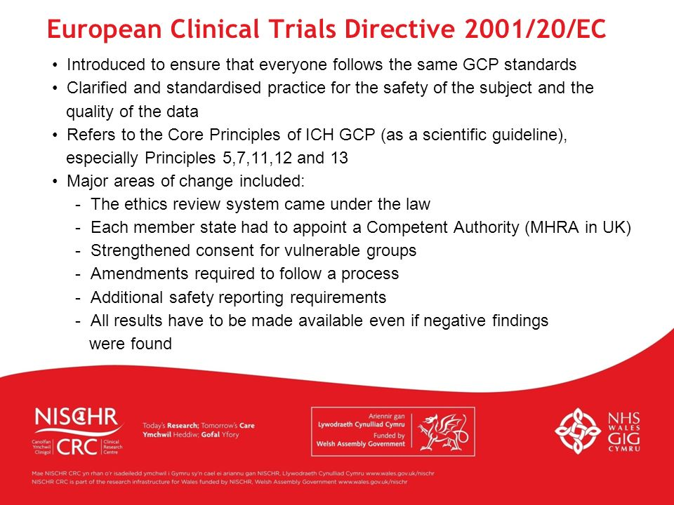 European Clinical Trials Directive 2001/20/EC
