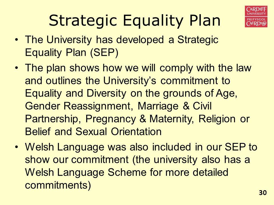 Strategic Equality Plan