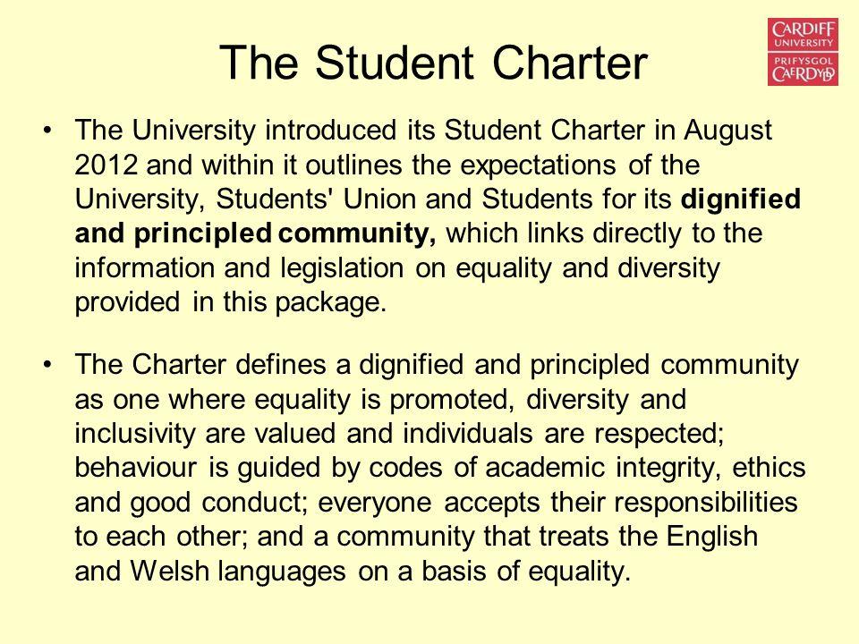 The Student Charter