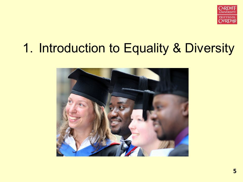 Introduction to Equality & Diversity