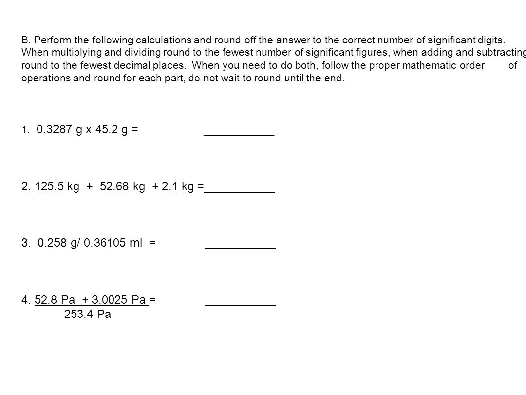 Uncategorized Significant Figures Practice Worksheet measurement and sig fig practice ppt download 2 125 5 kg 52 68 1 kg