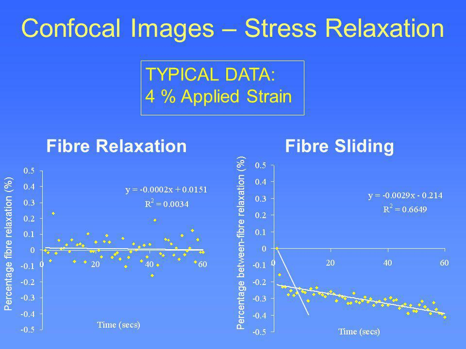 Confocal Images – Stress Relaxation