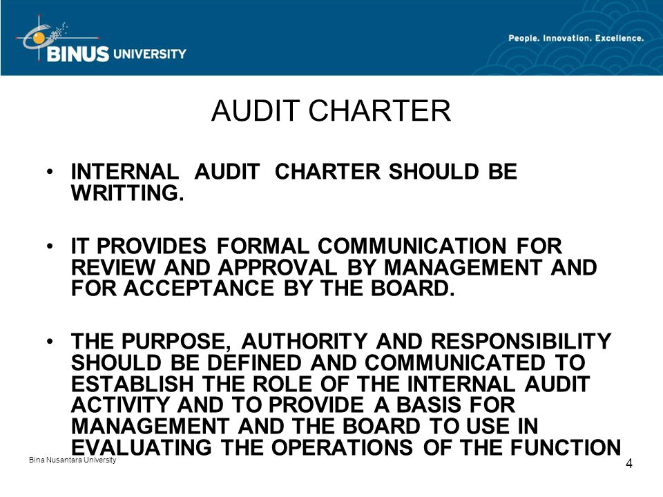 should external internal auditors be responsible for The client is responsible for internal audit activities and acknowledges its  the  tf noted that the distinction between internal and external audit services can be.