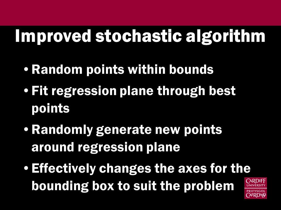 Improved stochastic algorithm