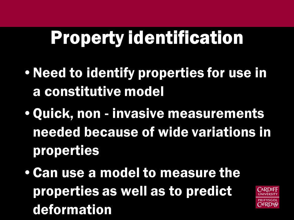 Property identification
