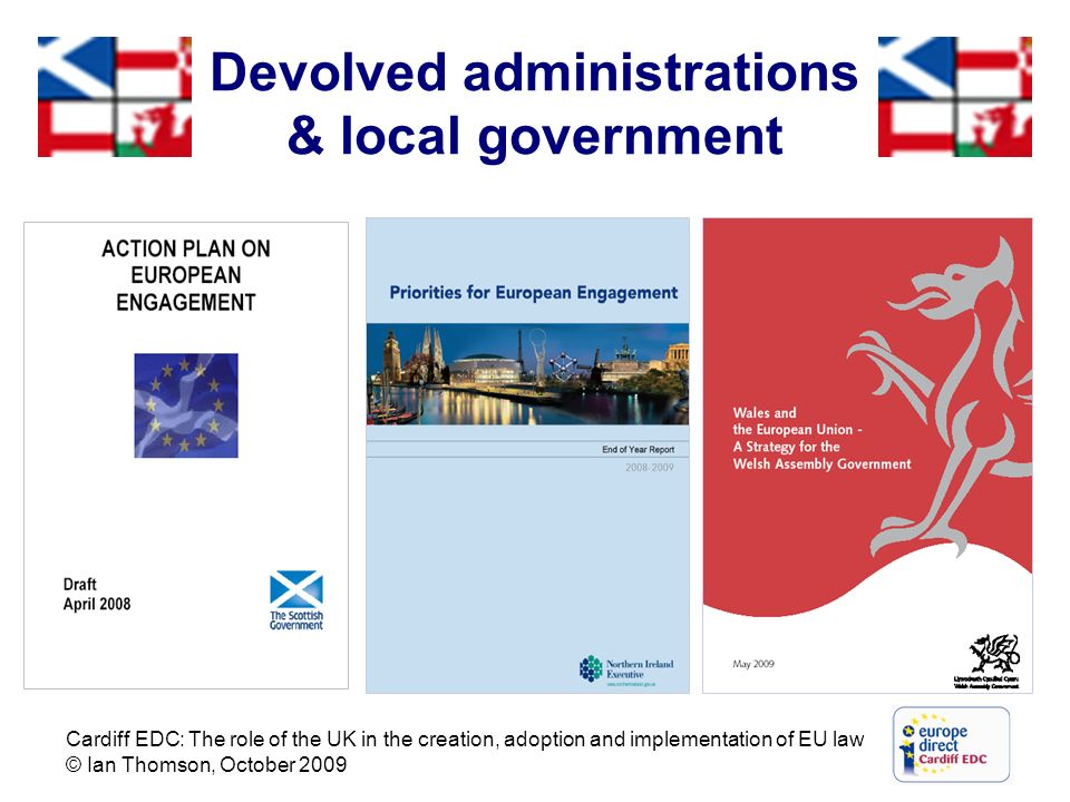 Devolved administrations & local government