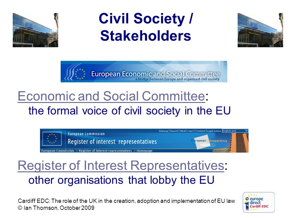 Civil Society / Stakeholders