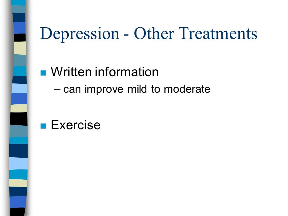 Depression - Other Treatments