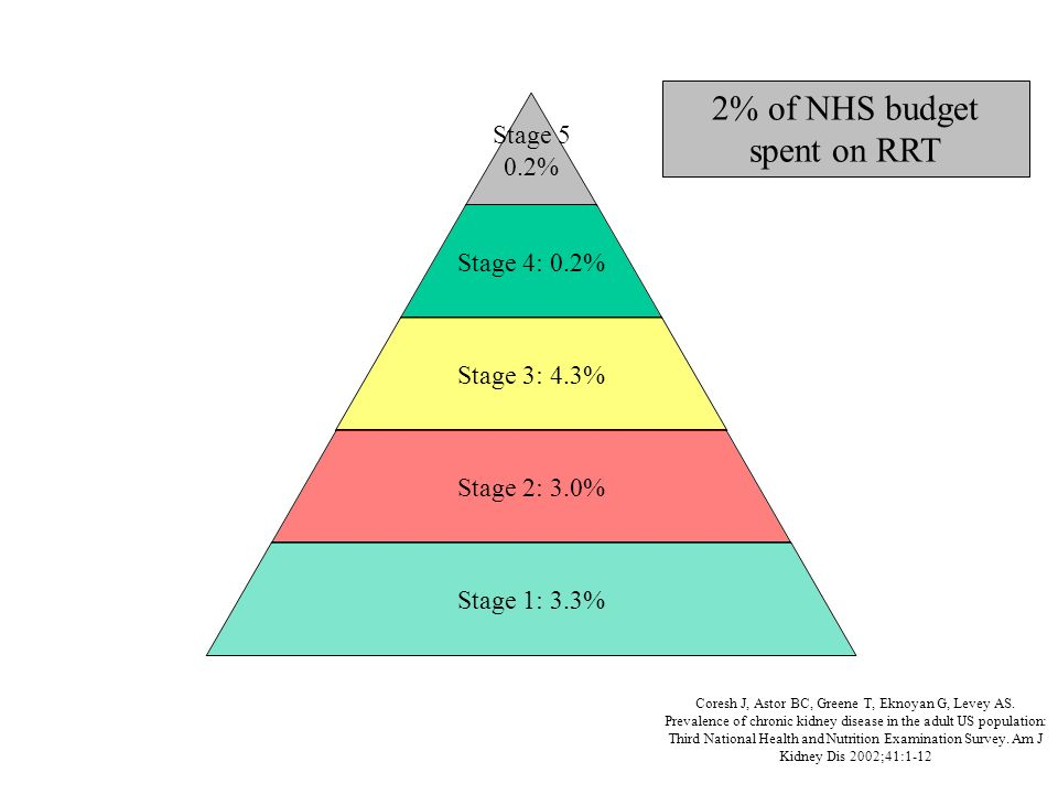 2% of NHS budget spent on RRT
