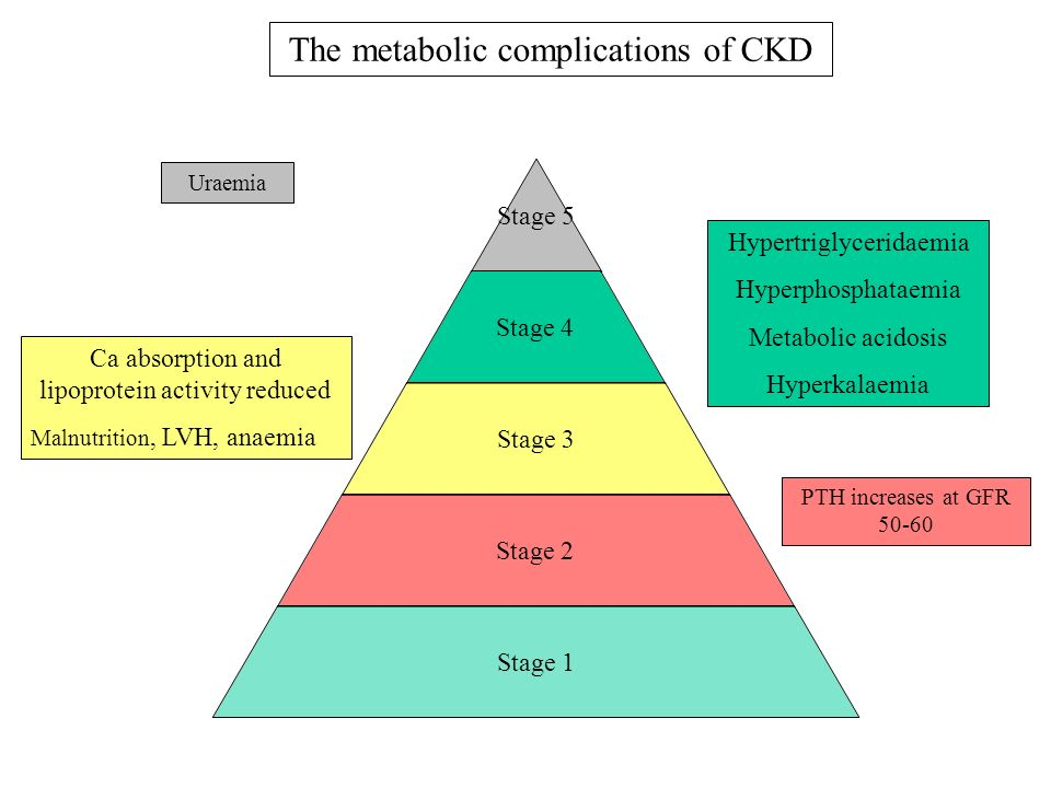 The metabolic complications of CKD