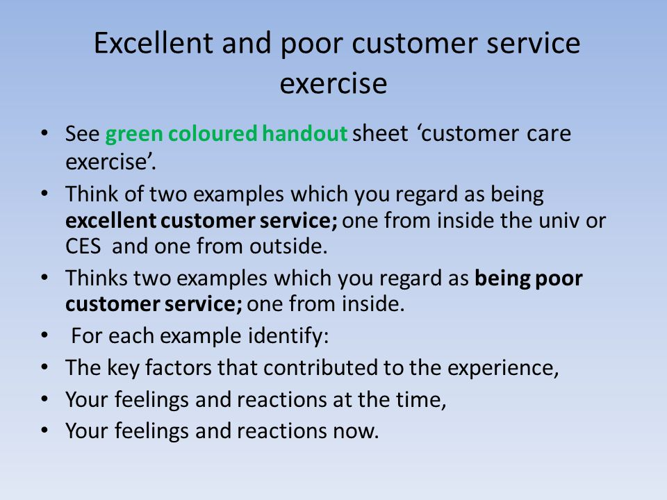 how to provide excellent customer service online