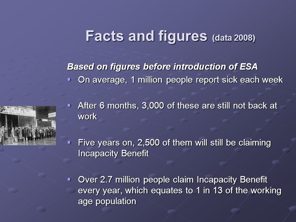 Facts and figures (data 2008)