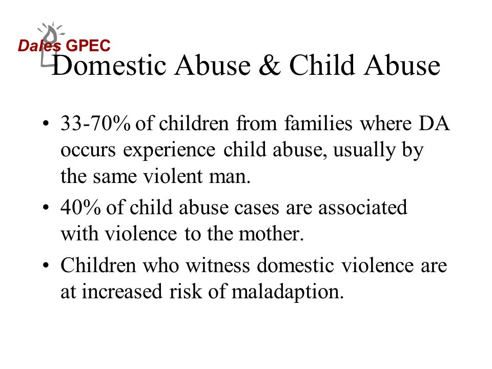 Domestic Abuse & Child Abuse