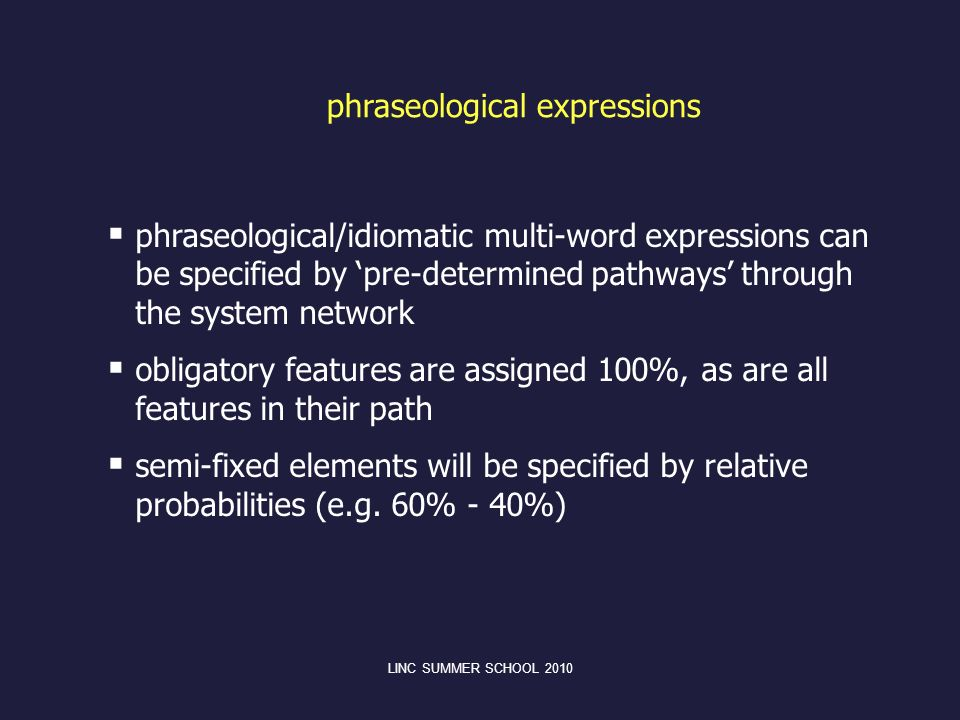 phraseological expressions