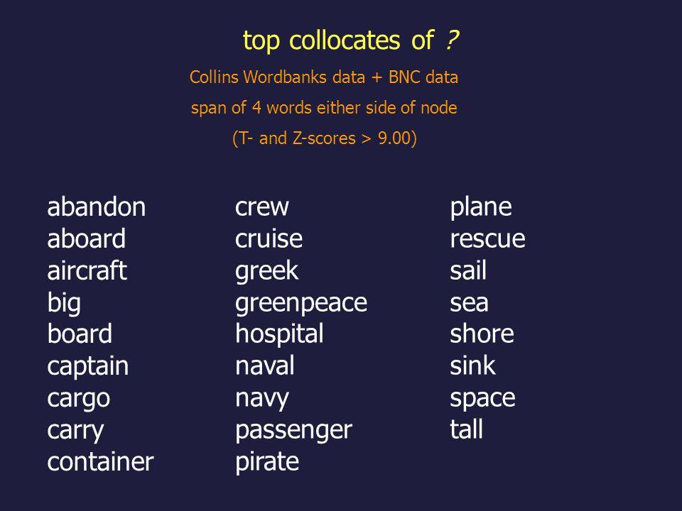 top collocates of abandon aboard aircraft big board captain cargo