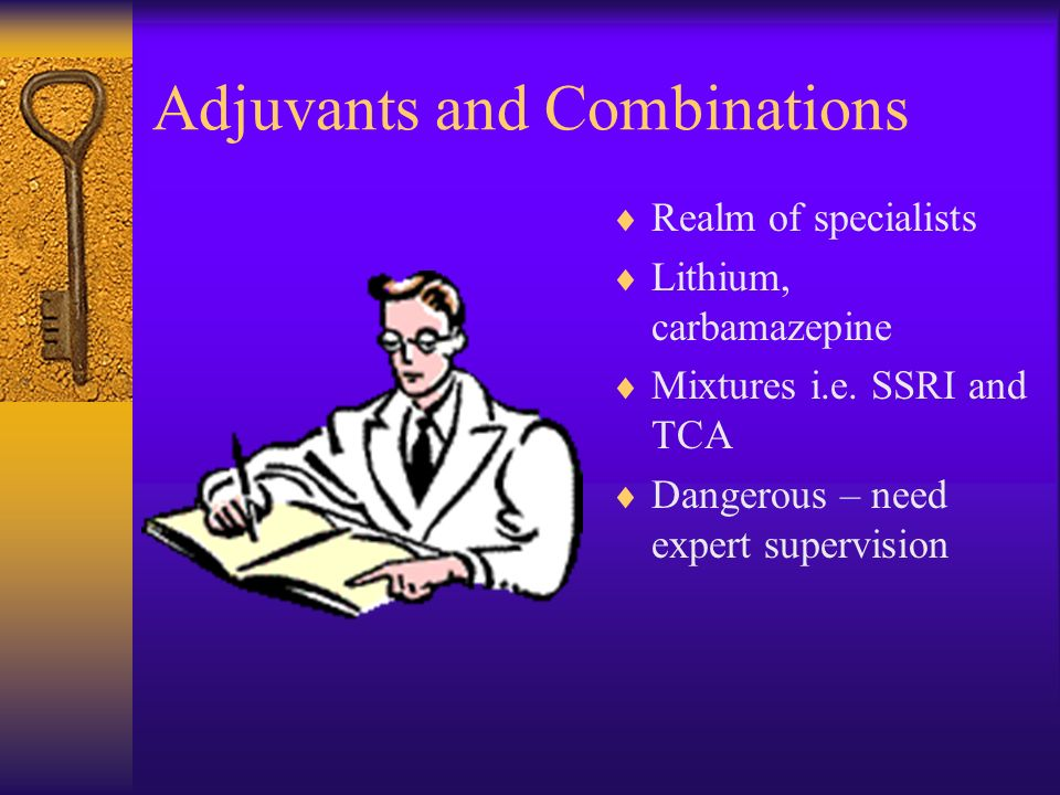 Adjuvants and Combinations