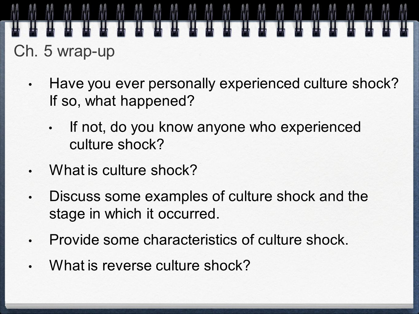 confronting the yanomamo the experience of cultural shock Resources: thinking globally box in ch 2 of society read the thinking globally: confronting the yanomamo: the experience of culture shock box (p 41) in ch 2 of the text, then respond to the following questions in 200- to 300-words: if you were visiting and studying the yanomamo, describe what you would have done to prepare yourself for.