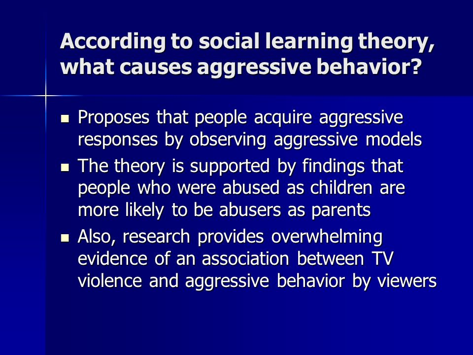 the debate on violence on tv causing aggressive behavior in children Quest: 'television has negative impact too the debate over whether or not violence on television causes aggressive behavior in children has often been therefore they get addicted to the television children who observe violence on television is likely to act out like what they.
