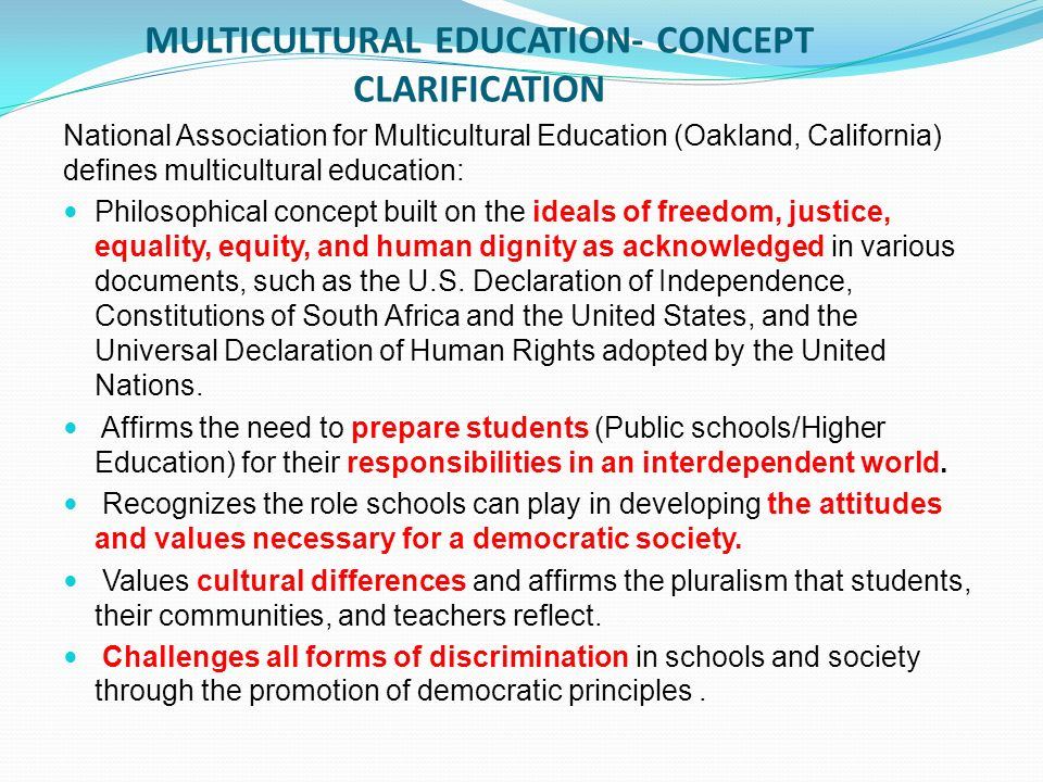 An introduction to the multiculturalism in the society in the united states