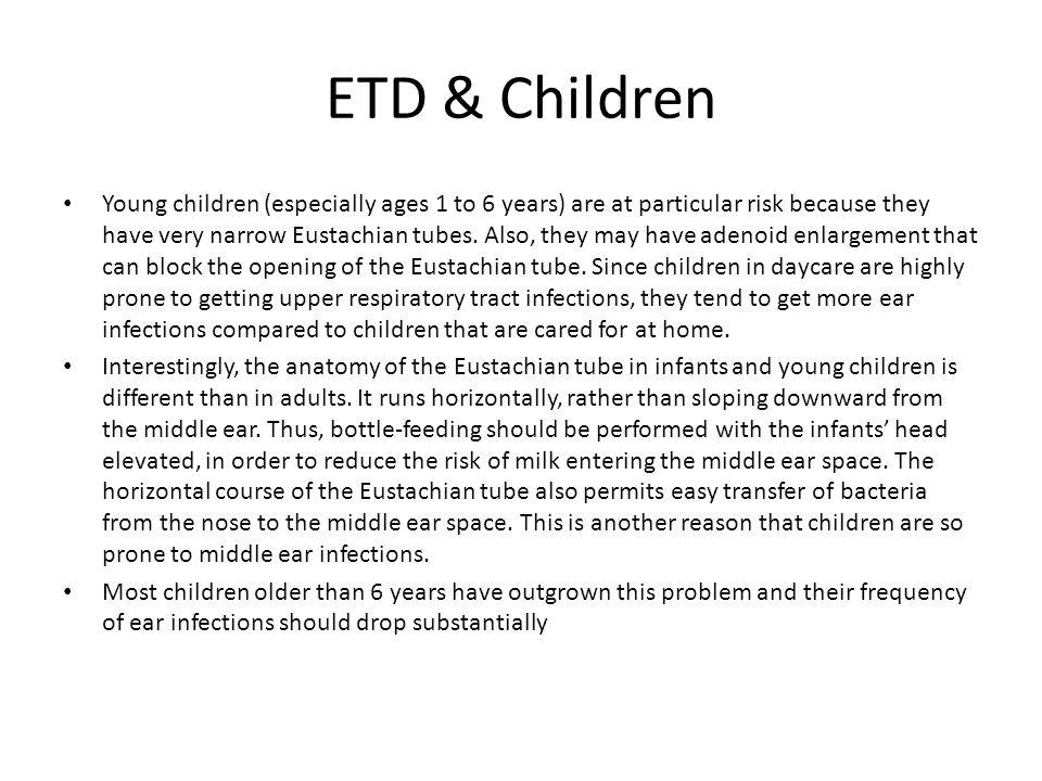 ETD & Children