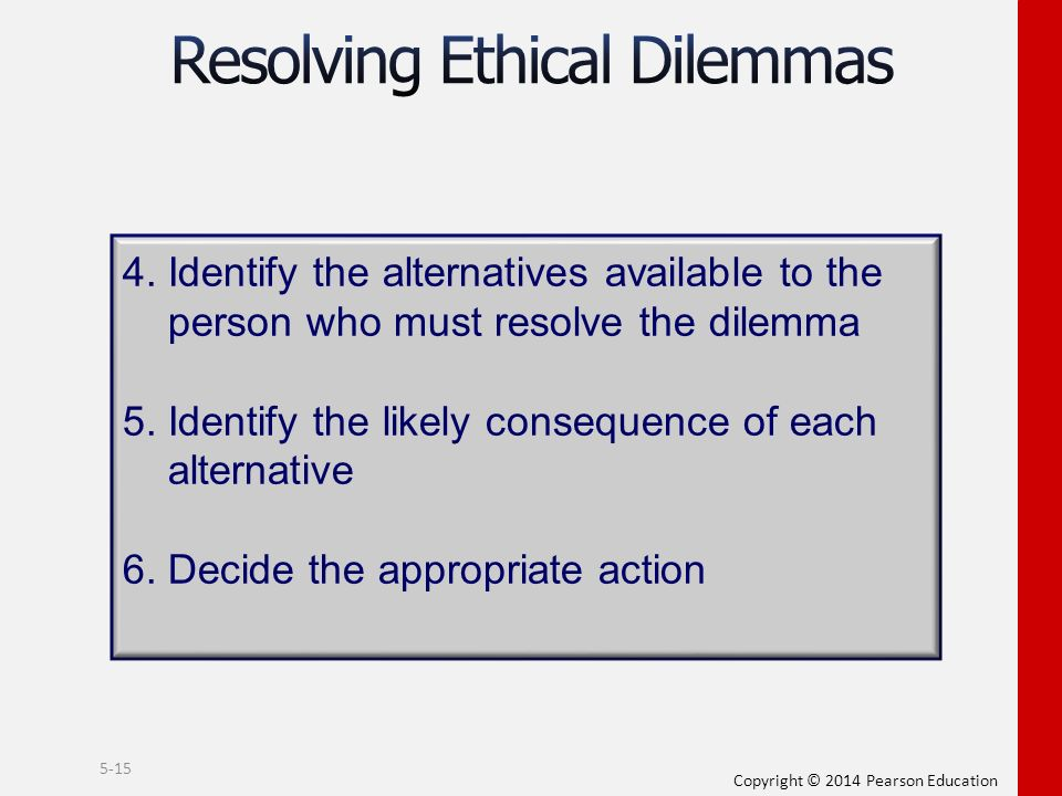 ethical dilemmas in workplace Ethics in the workplace the essentials •4) provide 3 examples of good workplace ethics •5) how do you make ethical decisions title: ethics in the workplace.