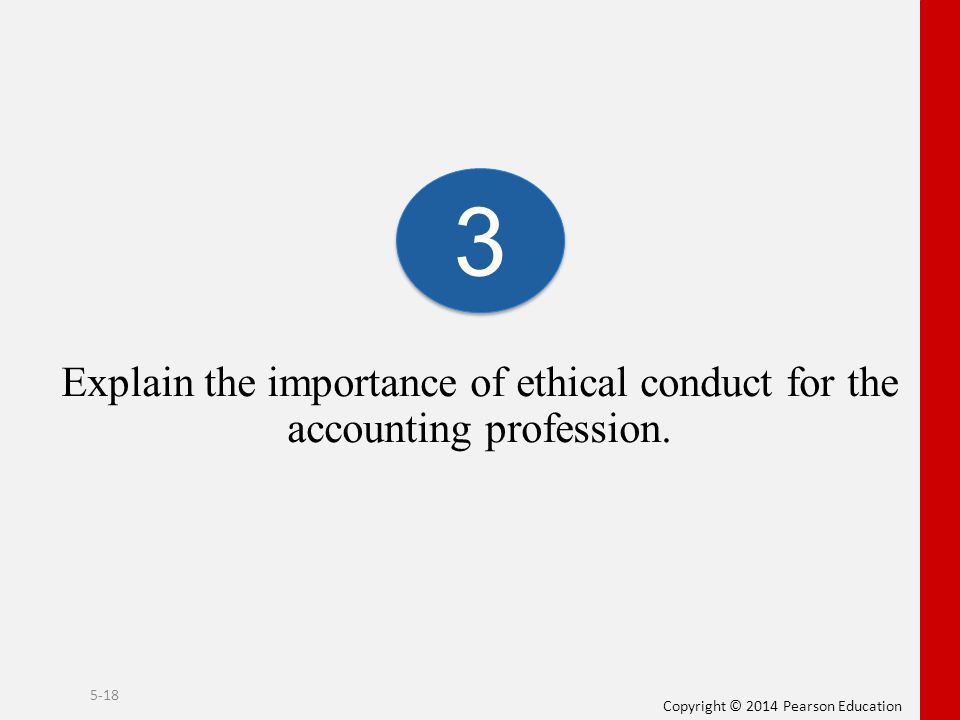 the importance of ethics in accounting Meaning of ethics it then signifies the importance of accounting ethics in  education as well as business situation brief history about the ethics is  mentioned as.