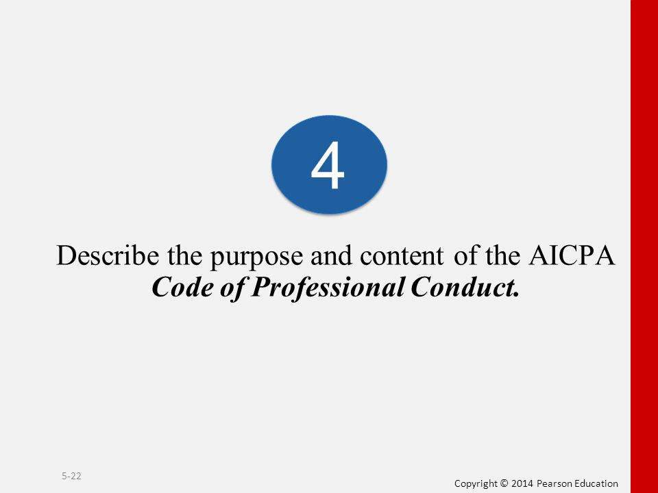 Aicpa code of professional conduct, Coursework Sample - tete
