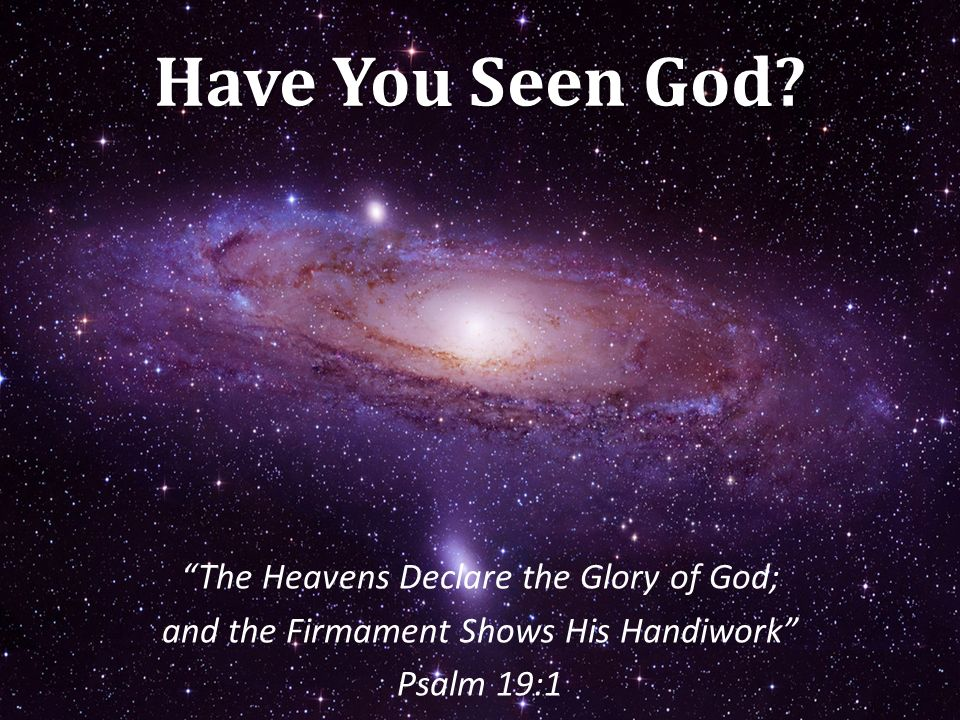 consider gods handiwork essay In essays and other literary works, mood is the dominant impression or  as i  believed that the heavens declared the glory of god's handiwork.