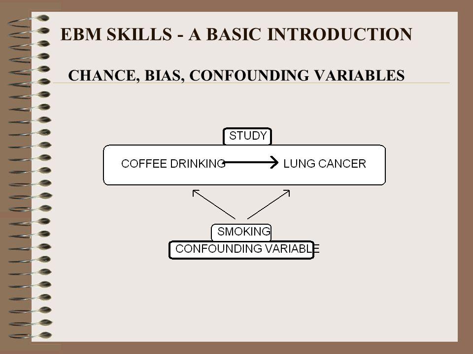 EBM SKILLS - A BASIC INTRODUCTION