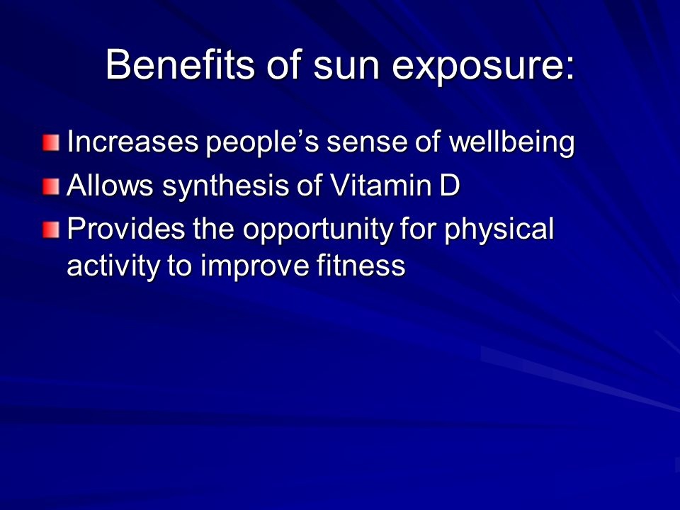 Skin pre cancer and cancer ppt download - Building orientation to optimize sun exposure ...