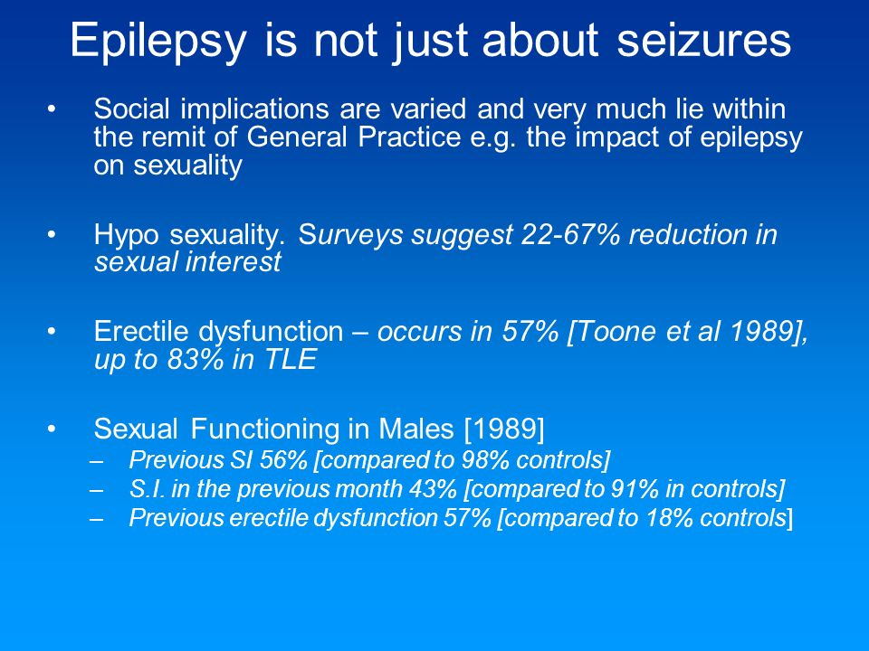 Epilepsy is not just about seizures