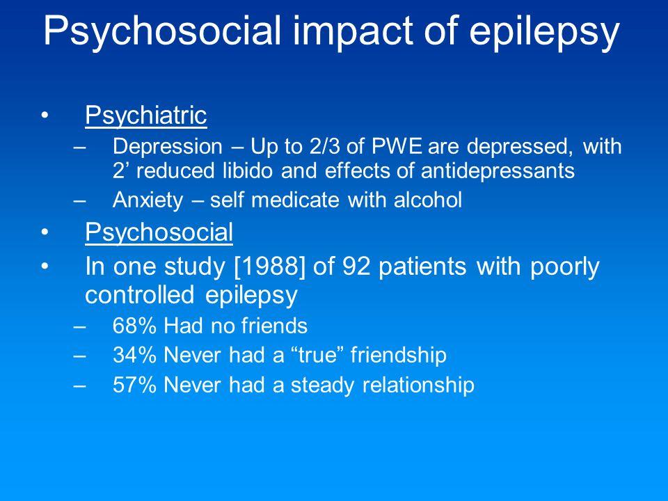 Psychosocial impact of epilepsy